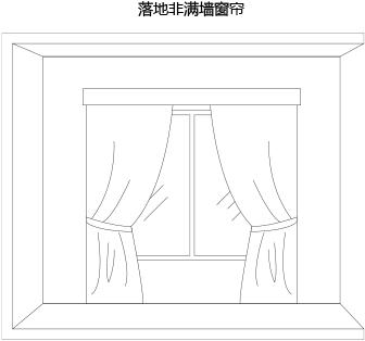 手绘窗帘效果图大全