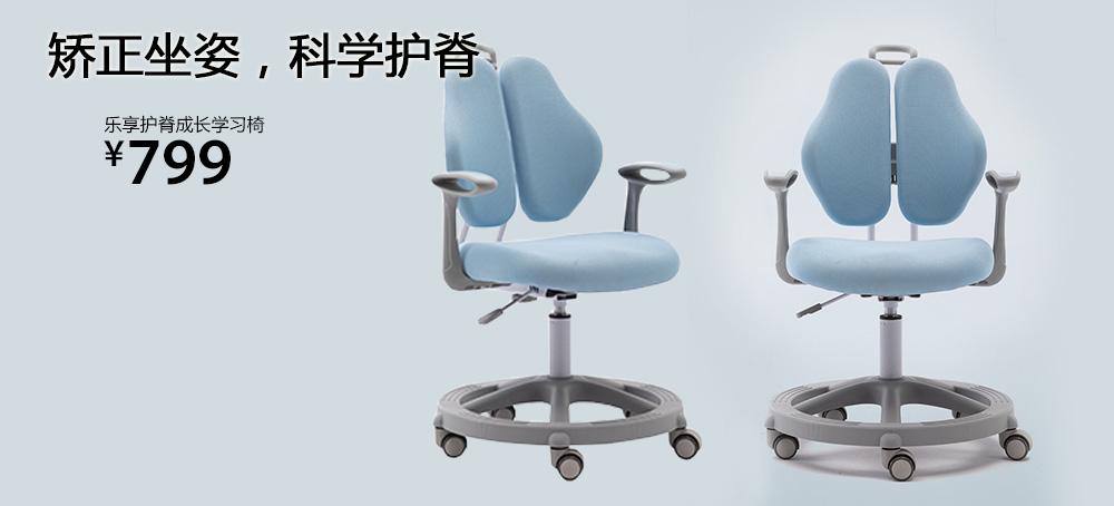 乐享护脊成长学习椅